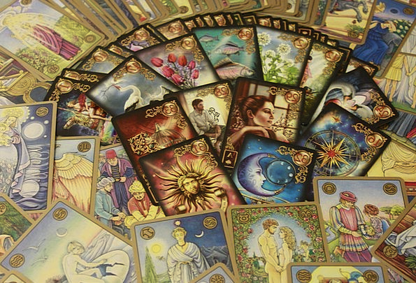 Oracle Cards, Cards, Postcards, Tarot Card, Mystic, Tarot