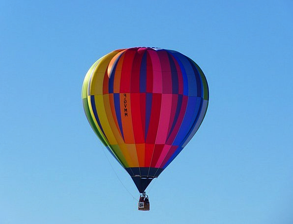 Hot Air Balloon Inflatable Colorful Interesting Ba