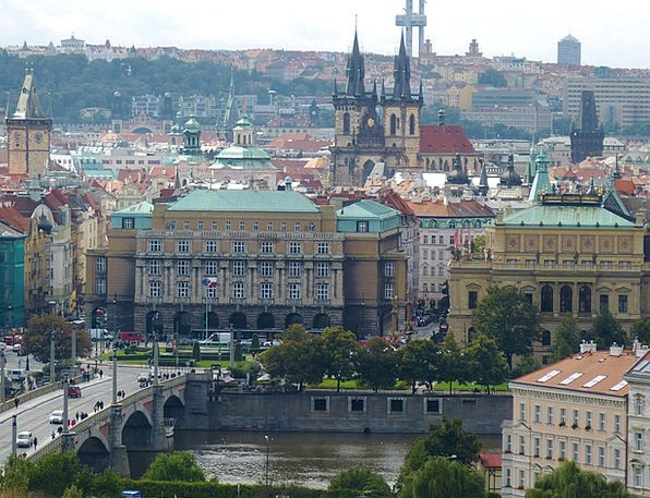 Charles Bridge Old Town Prague Building Bridge Bon