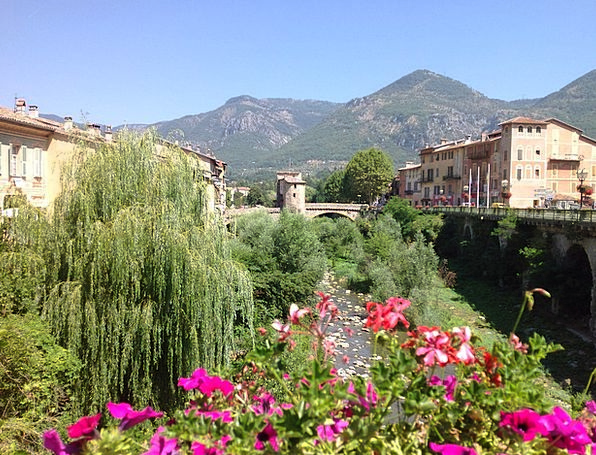 Provence Community Bridge Bond Village Creek Strea