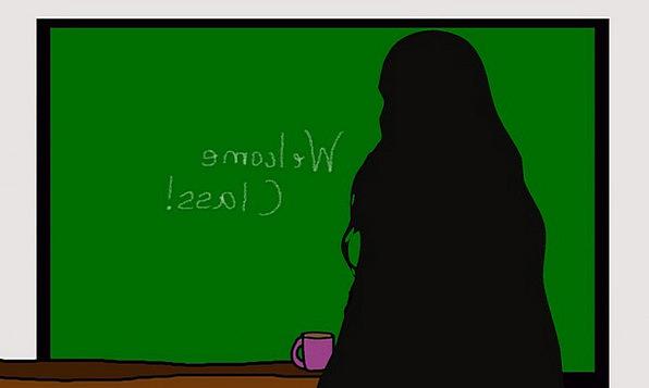 Teacher Educator Fashion Lady Beauty Classroom Sch