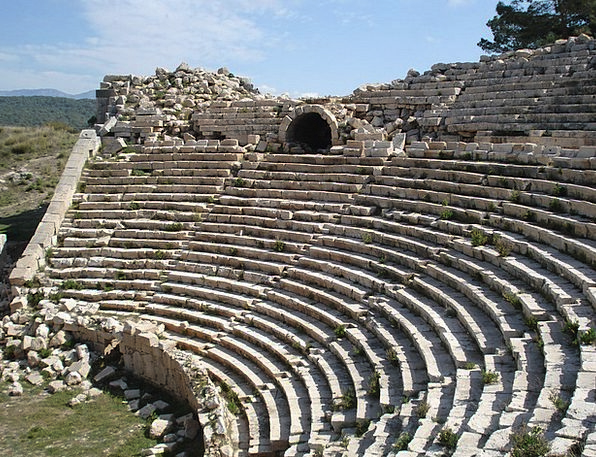 Turkey Monuments Drama Places Roman Classical Thea