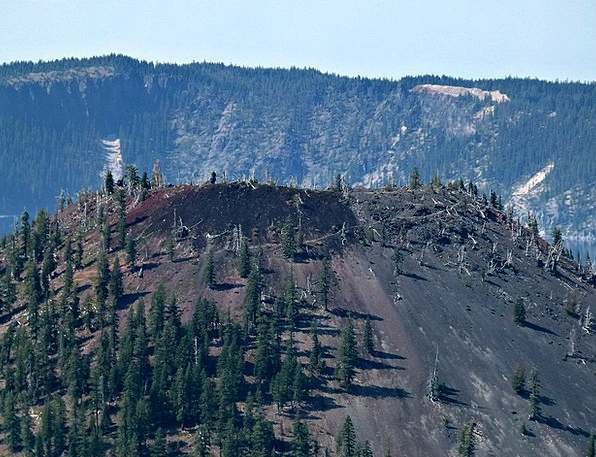 Mt Mazama Landscapes Nature Oregon Crater Lake Usa