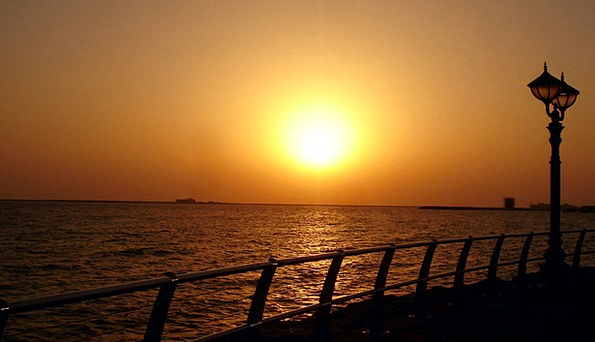Sunset Sundown Vacation Travel Landscape Scenery A