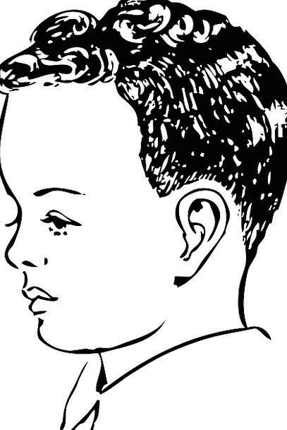 Boy Lad Curls Locks Curly Hair Free Vector Graphic