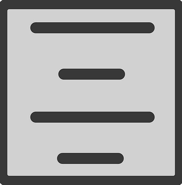 Center Midpoint Manuscript Arrange Position Text F
