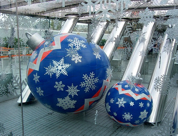 Christmas Beautification Holiday Break Decoration