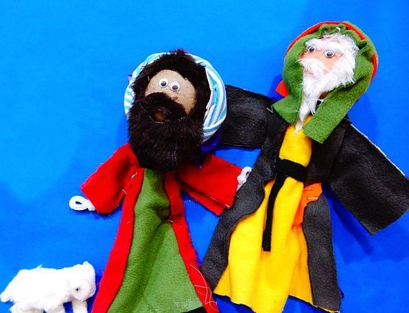 Christmas Origin Shepherds Marshals Nativity Men P