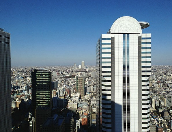 Shinjuku Ku Buildings Structure Architecture Build