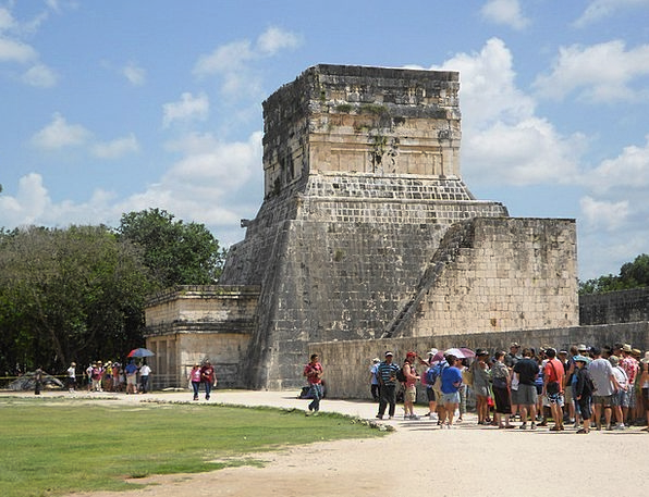 Mexico Temple Shrine Coba Ruin Devastation Aztecs