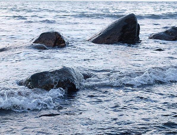 Sea Marine Gravels Wave Upsurge Stones