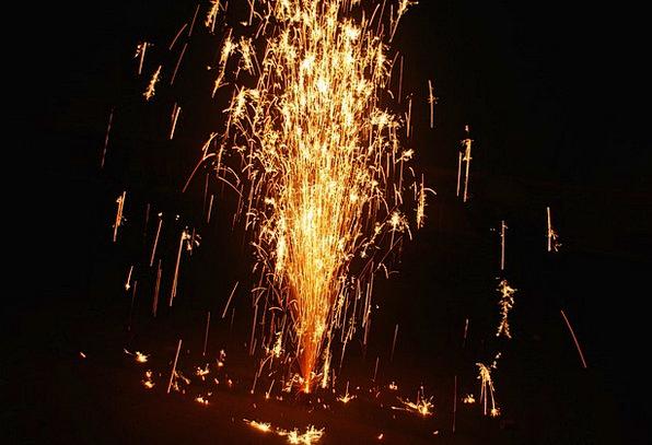 Fireworks Rockets Life Sparkling Glittering Sparkl