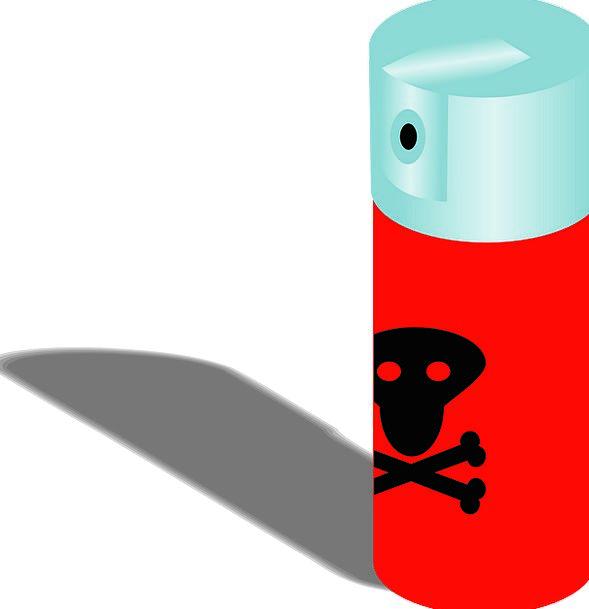 Poison Fatal Sprig Chemical Biochemical Spray Dead