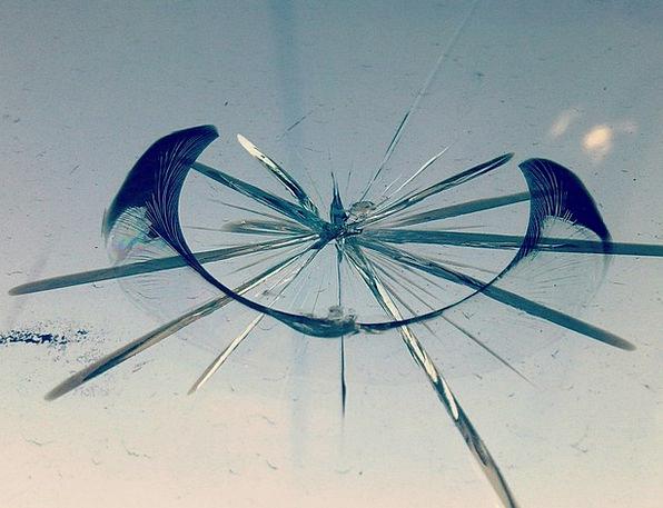 Broken Glass Disruption Glass Cut-glass Break Circ