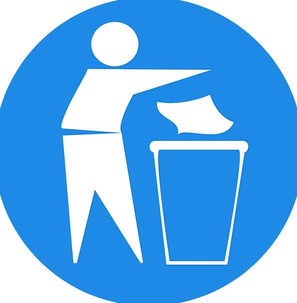 Man Gentleman Reprocessing Trash Garbage Recycling