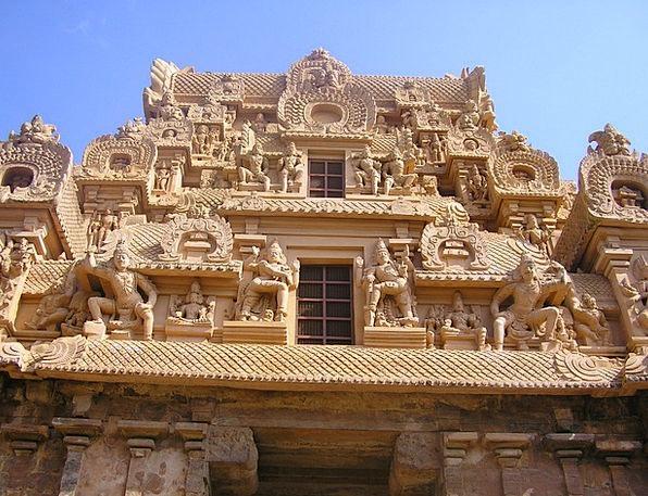 Temple Shrine Gopuram Brihadeeswara Monuments Arch