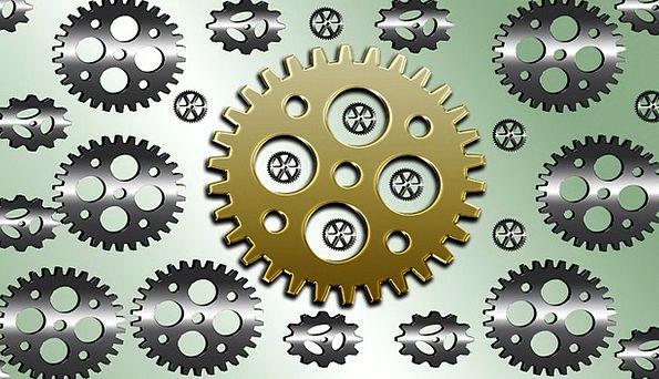 Gears Mechanisms Textures Paraphernalia Background