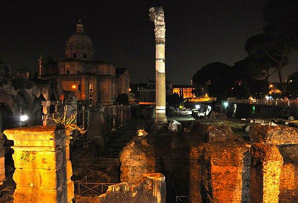 Rome Fleabags Fori Imperiali Holes Ancient Antique