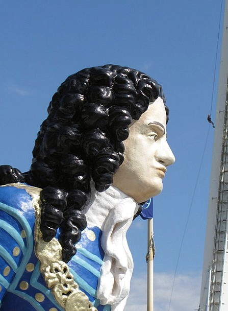 Ship Vessel Figure Number Figurehead Man Gentleman