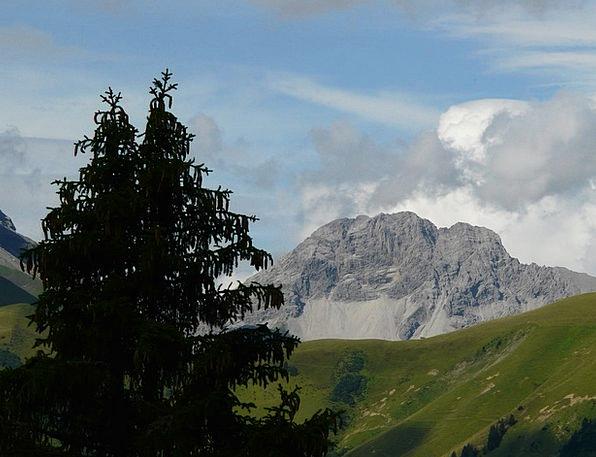 Panorama View Landscapes Mountainous Nature Mounta