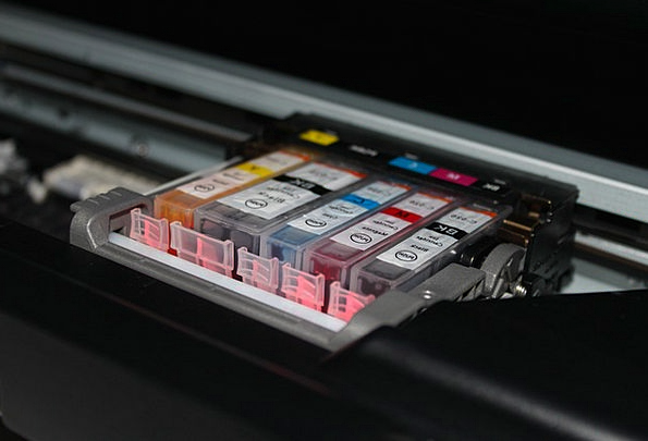 Cartrdige Printer Copier Cmyk Colors Insignia Prin