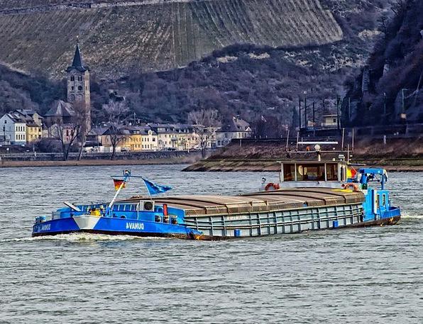 Rhine River Finance Business Ship Vessel Germany S