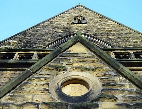 Gable Partition Church Ecclesiastical Wall Archite