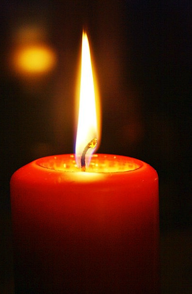 Candle Taper Blaze Advent Arrival Flame Warm Since
