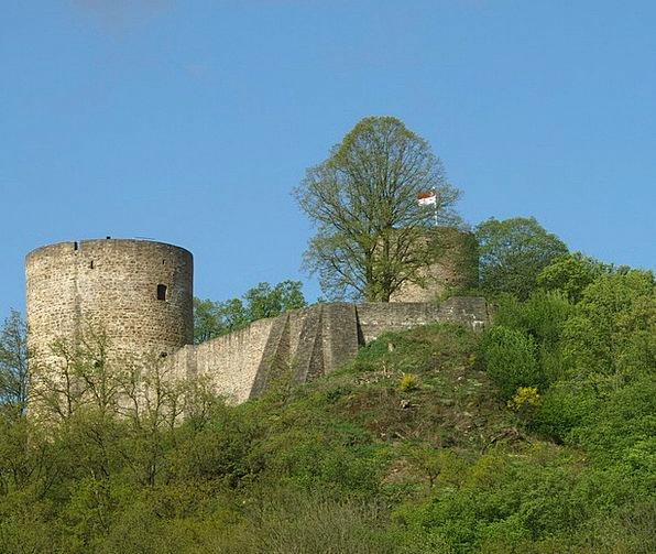 Castle Fortress Bergisches Land Stad Blankenberg T