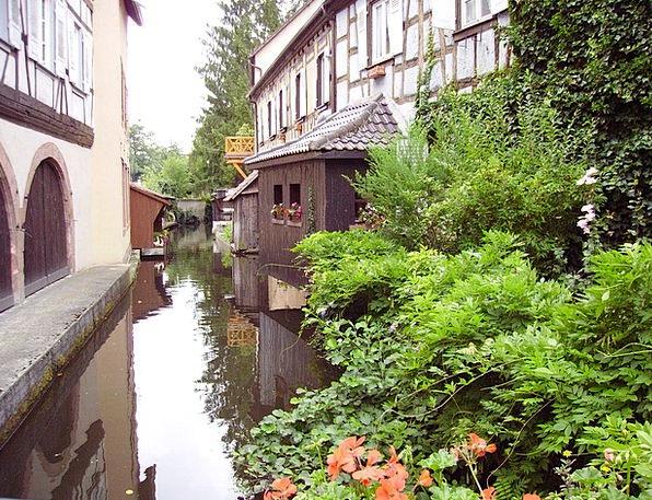 Truss Bind Stream Alsace River