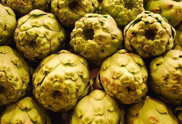 Artichokes Potatoes Green Lime Vegetables Power Co