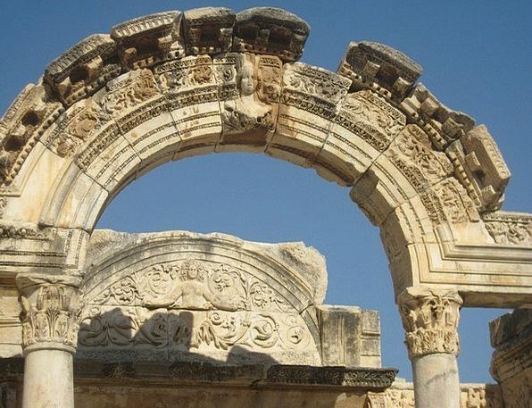 Ephesus Ancient Times Antiquity Temple Of Artemis