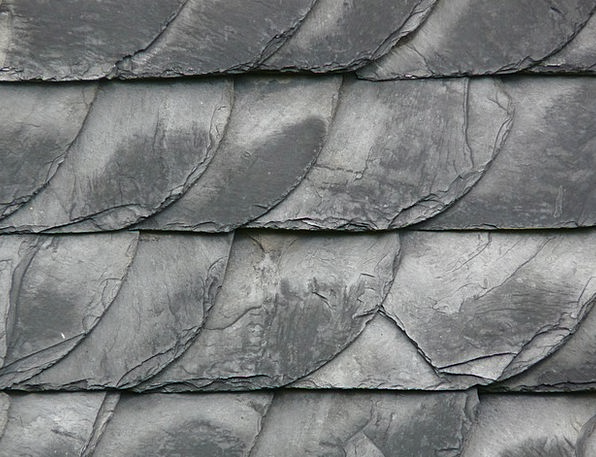 Slate Account Roof Rooftop Slate Roof Skewness Sto