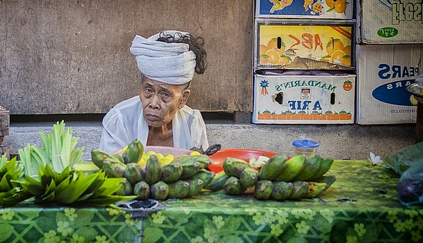 Market Marketplace Vacation Travel Bali Fruit Stan