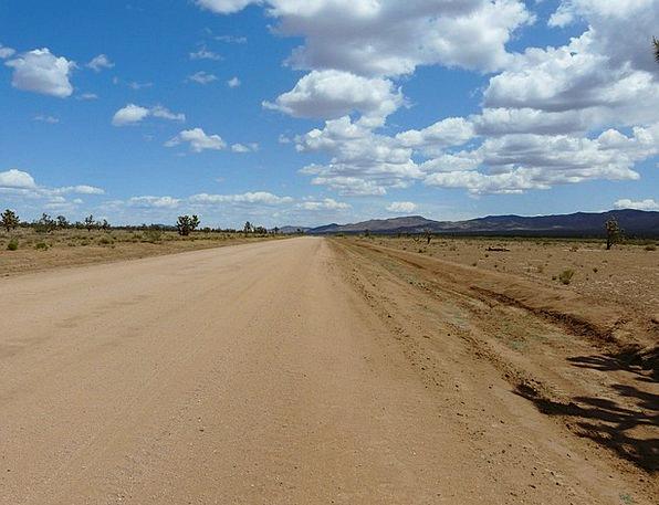 Mojave Desert Traffic Transportation Road Street J