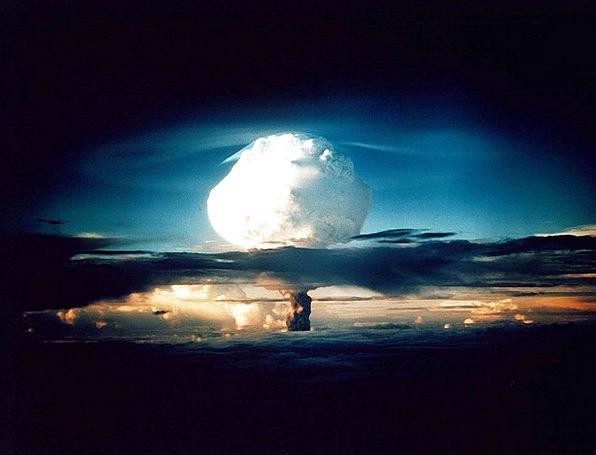 Hydrogen Bomb Nuclear Explosion Atomic Bomb Mass D
