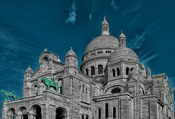 Sacré Coeur Church Ecclesiastical Paris France