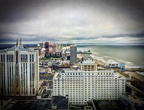 Atlantic City Vacation Travel Skyline Horizon Jers
