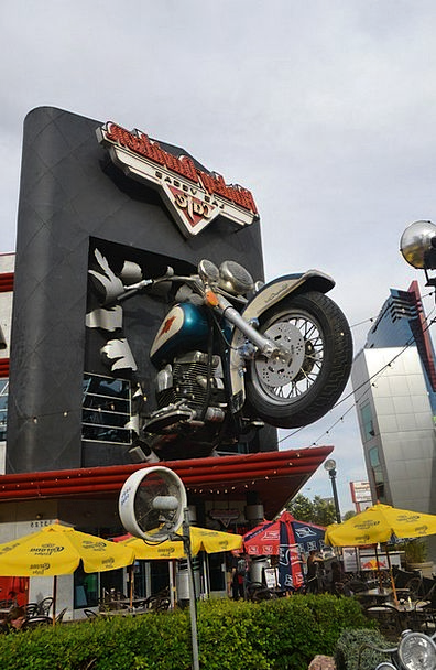 Harley Davidson Buildings Eatery Architecture Moto