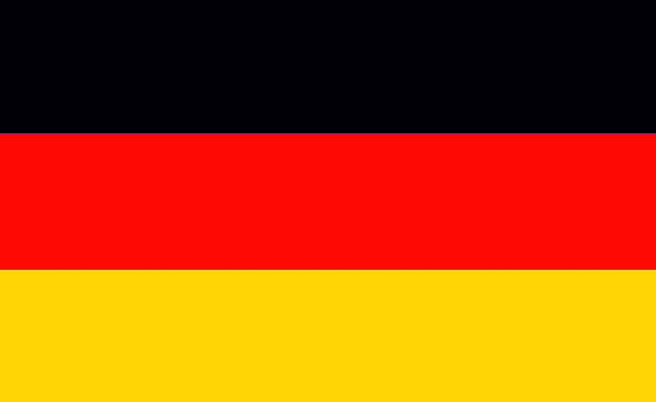 Germany Standard Nationality People Flag Country E