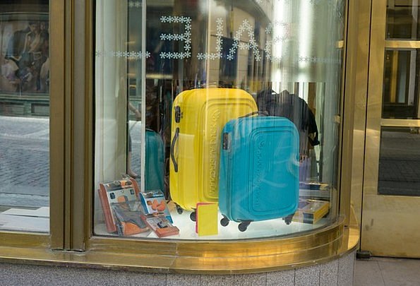 Suitcases Vacation Gap Travel Shopping Spending Wi