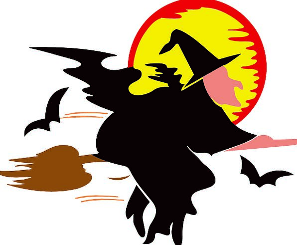 Witch Enchantress Fashion Handle Beauty Halloween