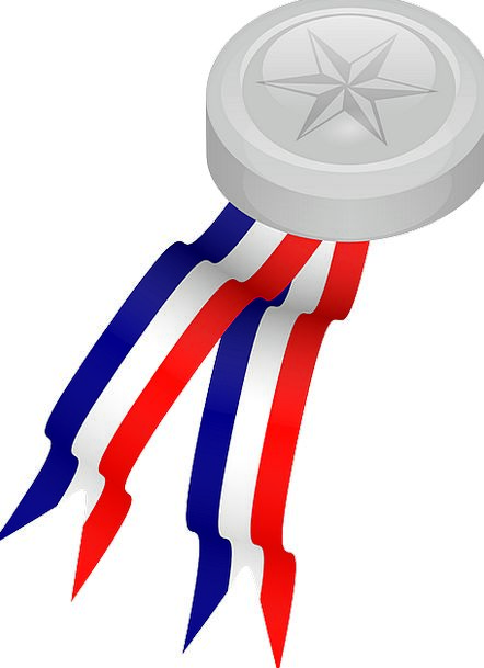 Medallion Gray Prize Flagship Silver Medal Award R