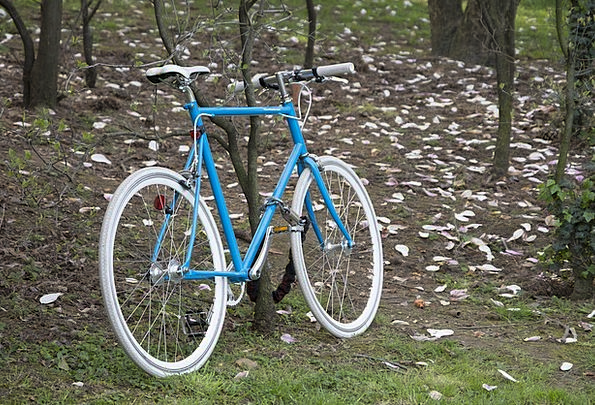 Bike Motorbike Landscapes Azure Nature Bicycle Blu