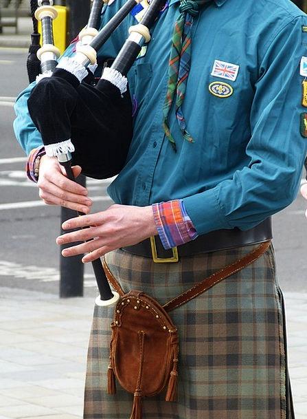 Bagpipes Musical Instrument Jock Kilt England Inst