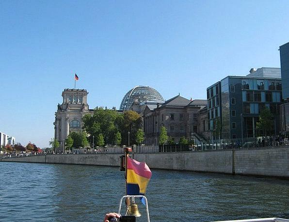 Berlin Buildings Urban Architecture River Stream C