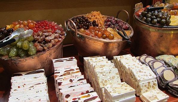 Candy Store Drink Food Sweets Bonbons Nougat Sugar