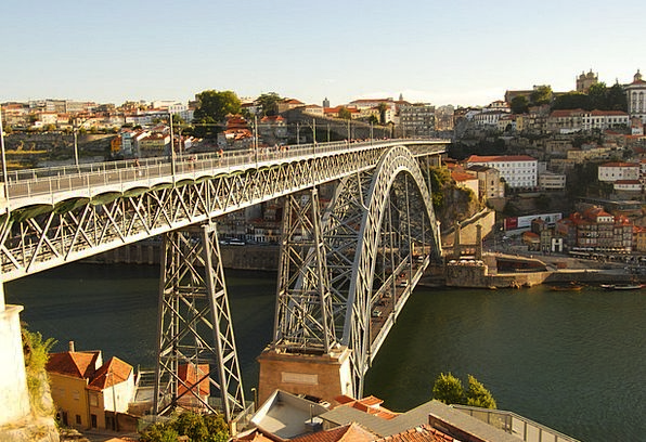 Iron Bridge Portugal Porto