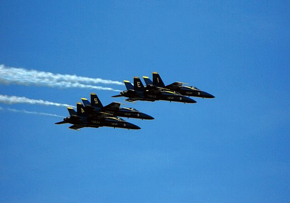 Navy Fleet Jets Blue Angels Clear Planes Airplanes