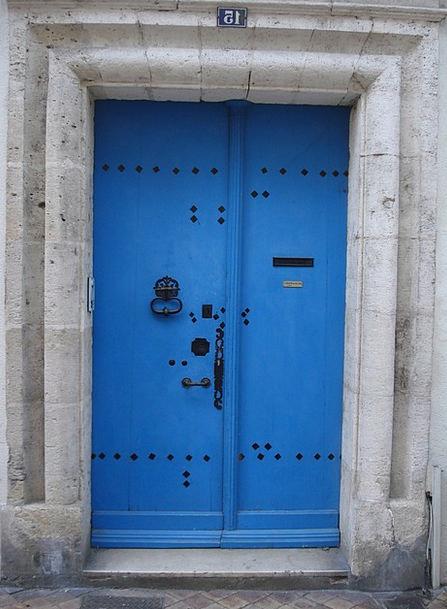 Door Entrance Buildings Admission Architecture Blu